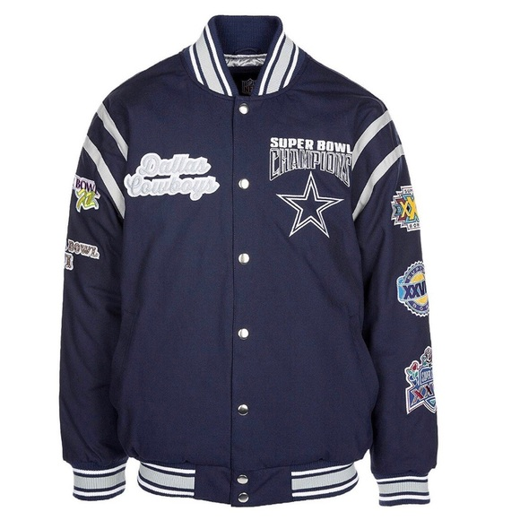 NFL Dallas Cowboys All Time Varsity Jacket Mens cb17ad2e3